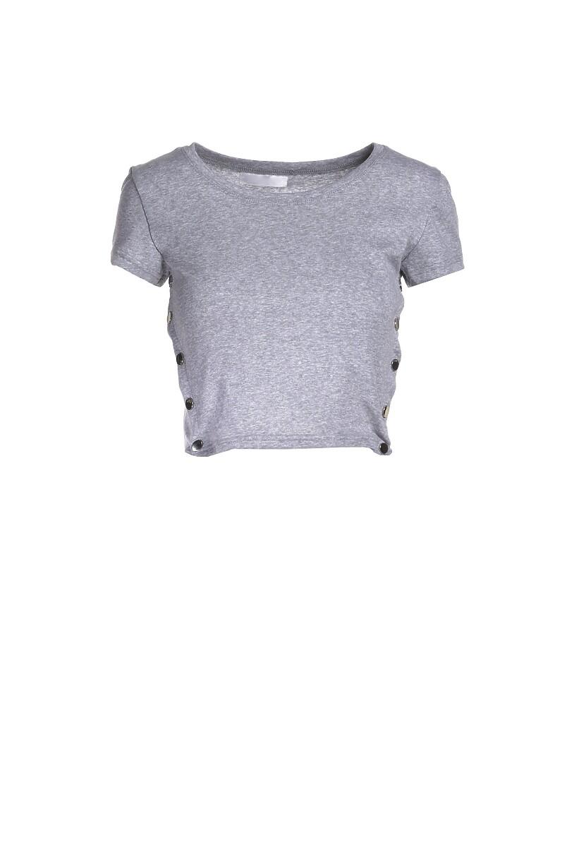 Szary T-shirt Malato