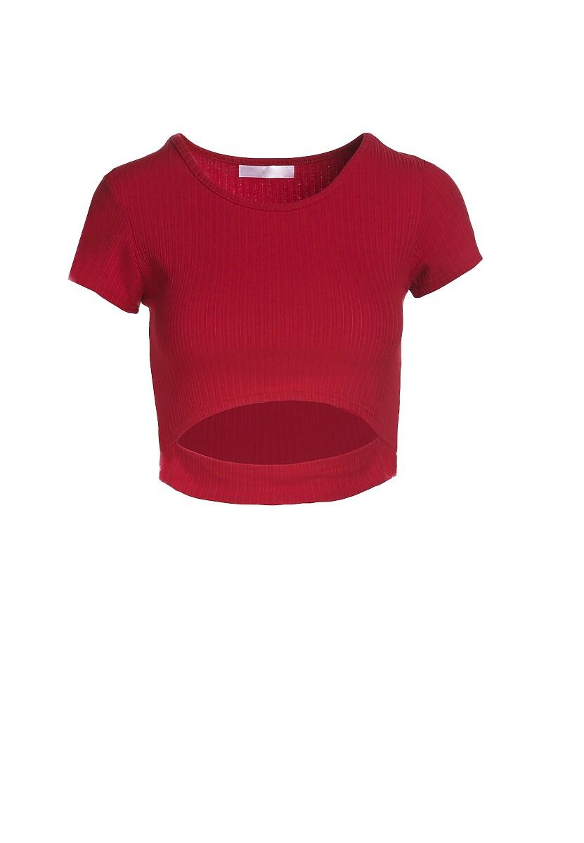 Czerwony T-shirt Aethegale