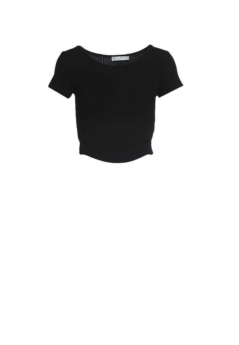 Czarny T-shirt Aethegale