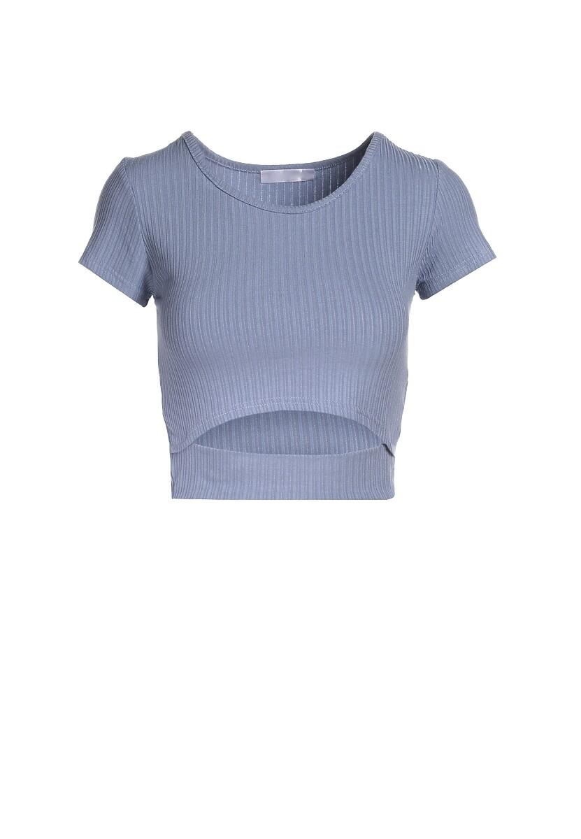 Niebieski T-shirt Aethegale