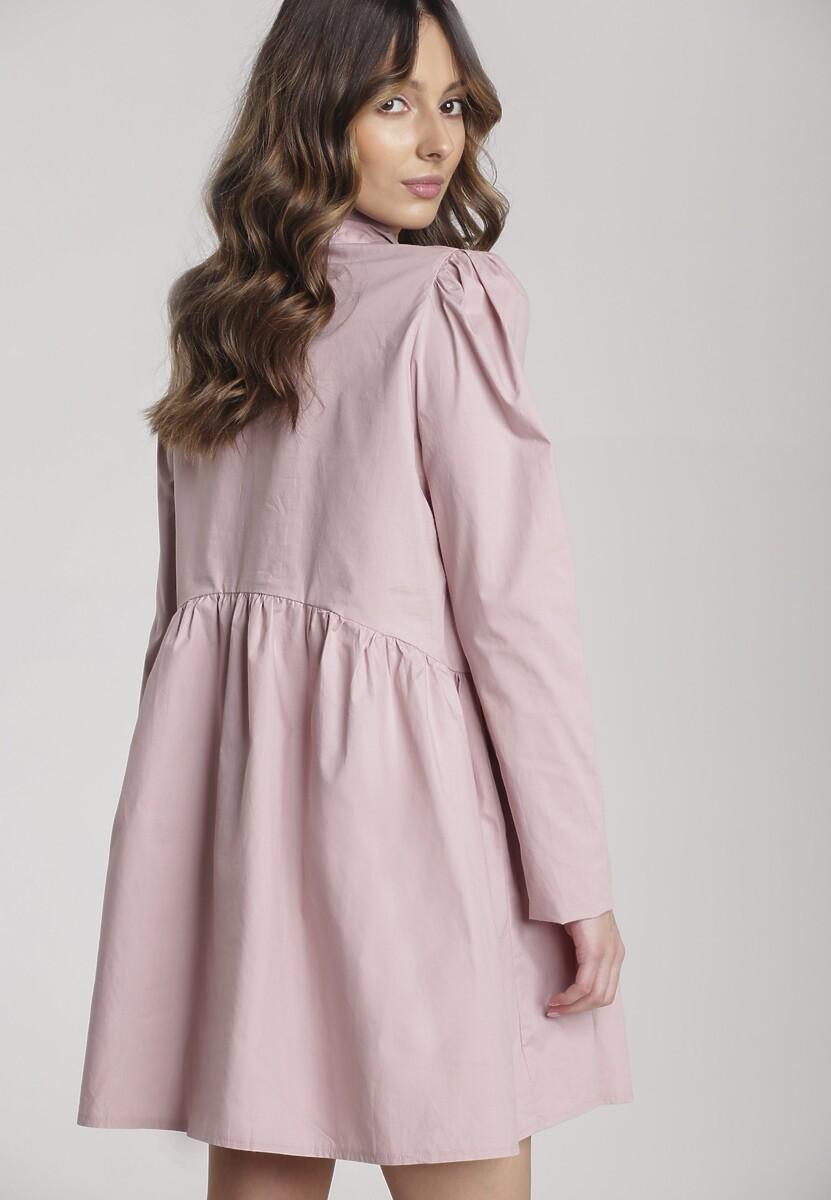 Różowa Sukienka Thessaciane