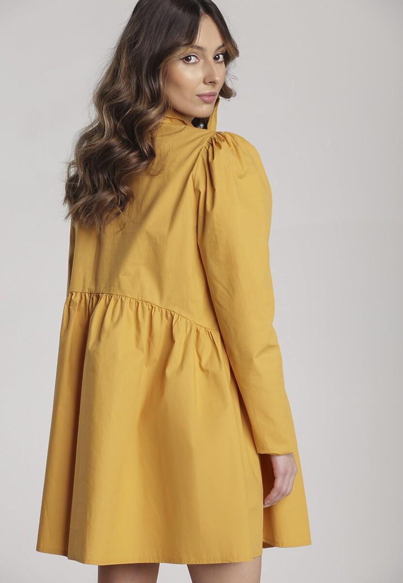 Żółta Sukienka Thessaciane