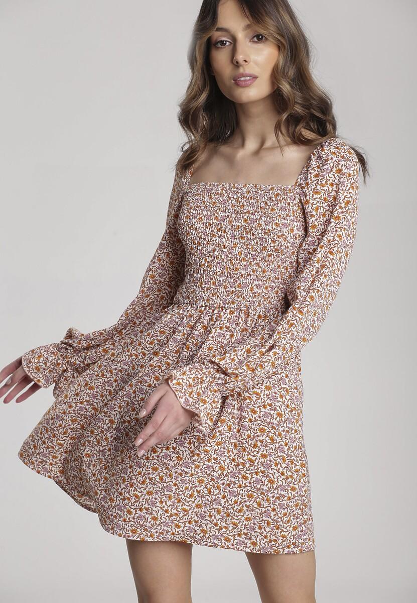 Różowa Sukienka Dorialis