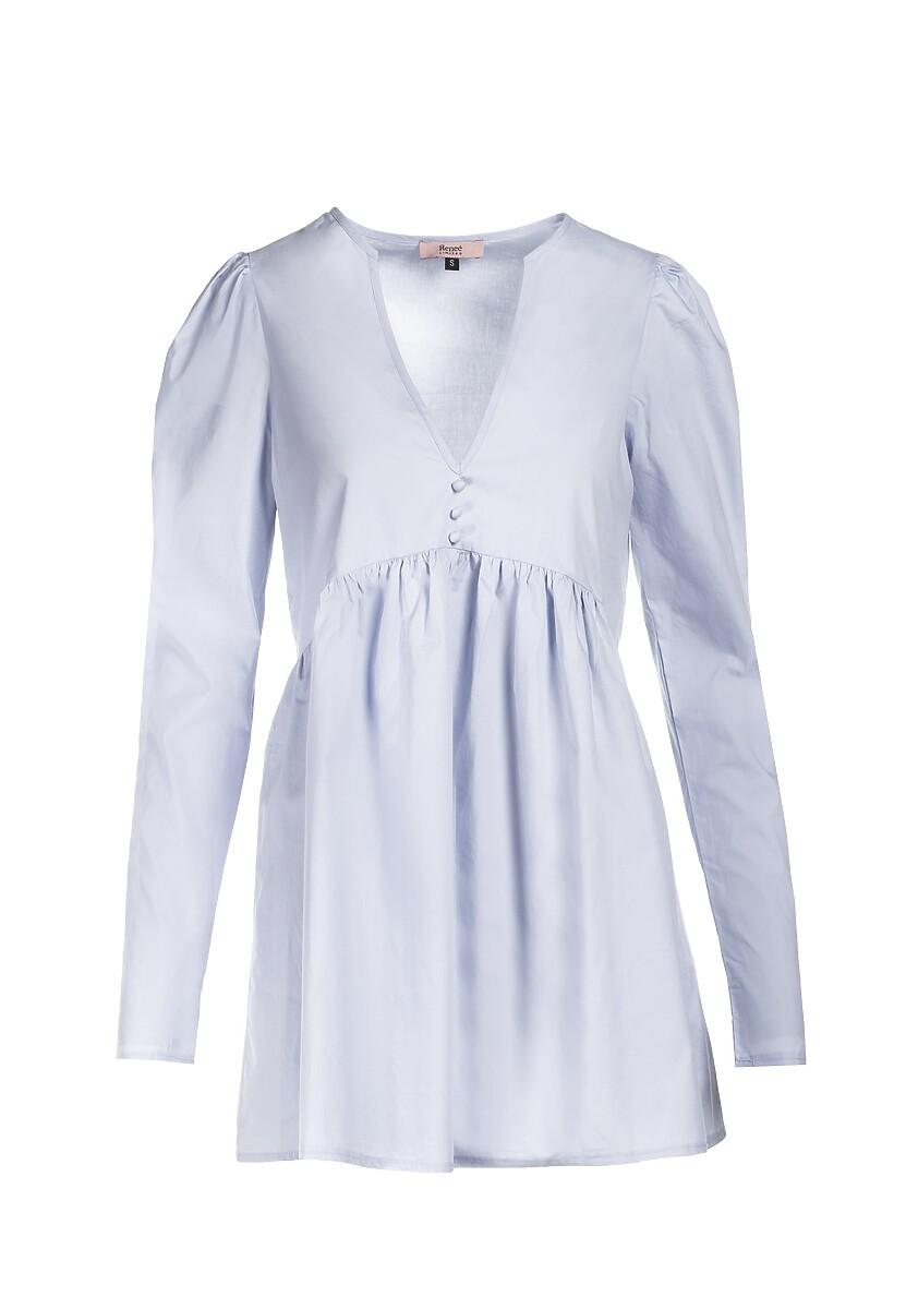 Niebieska Sukienka Genilee