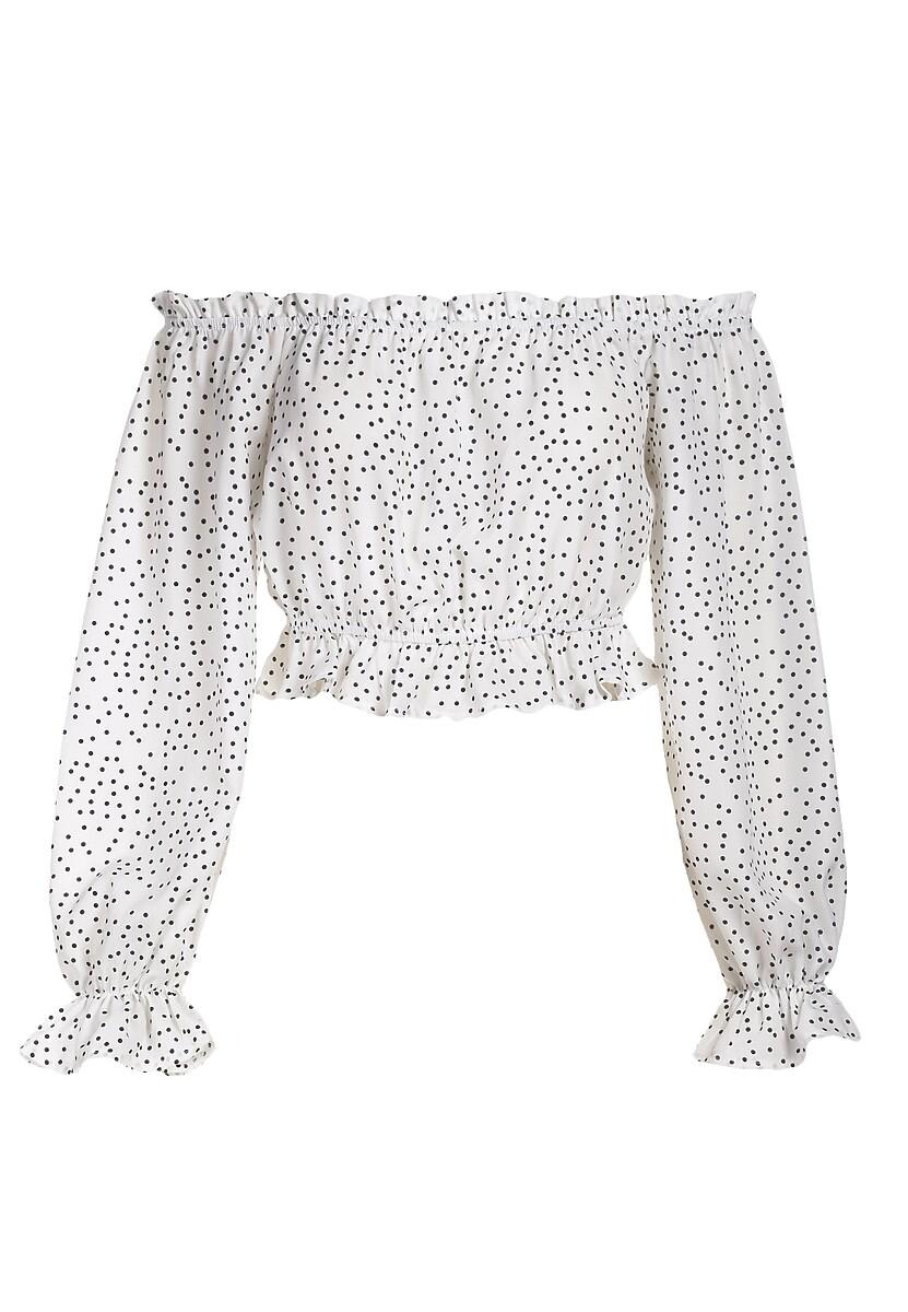 Biała Bluzka Marythoe