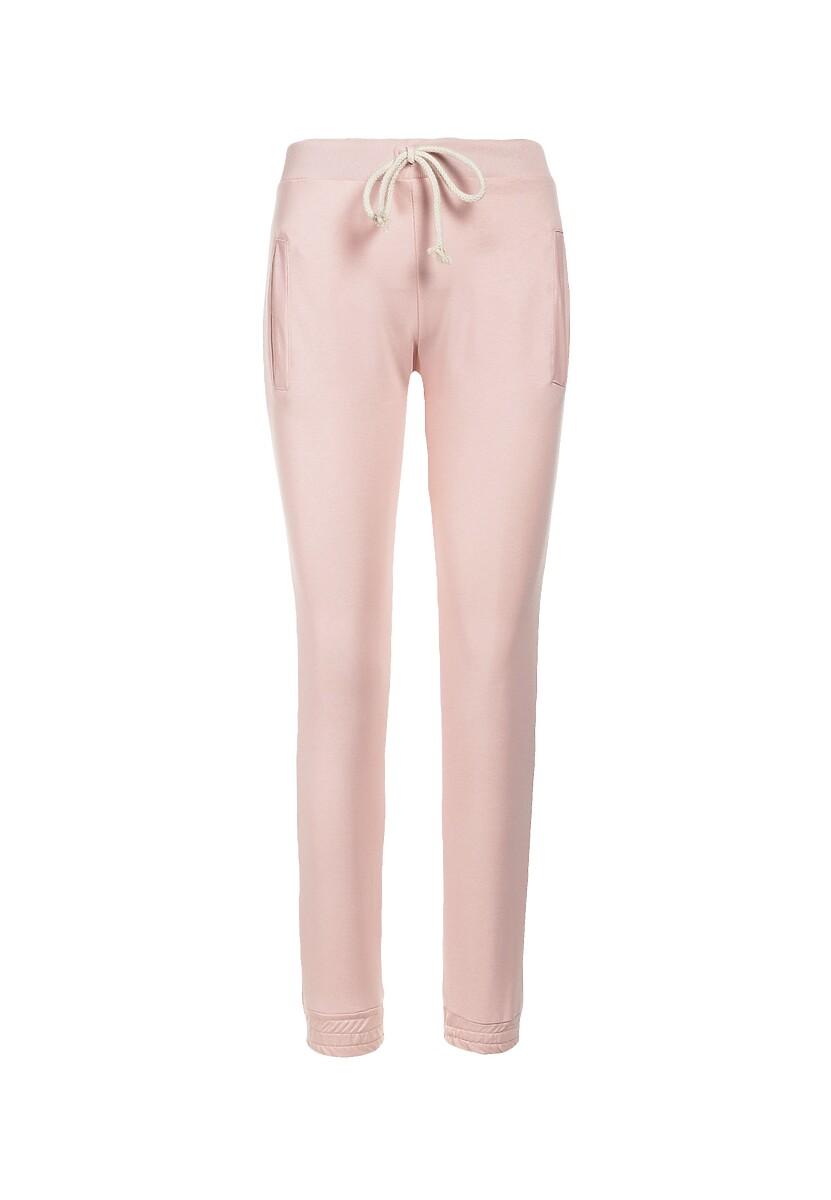 Jasnoróżowe Spodnie Corearial