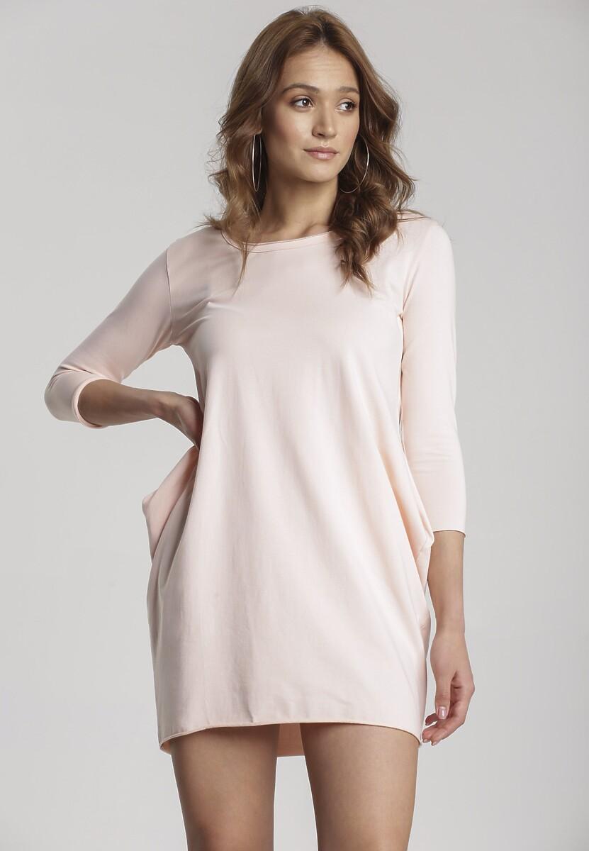 Jasnoróżowa Sukienka Jenyris