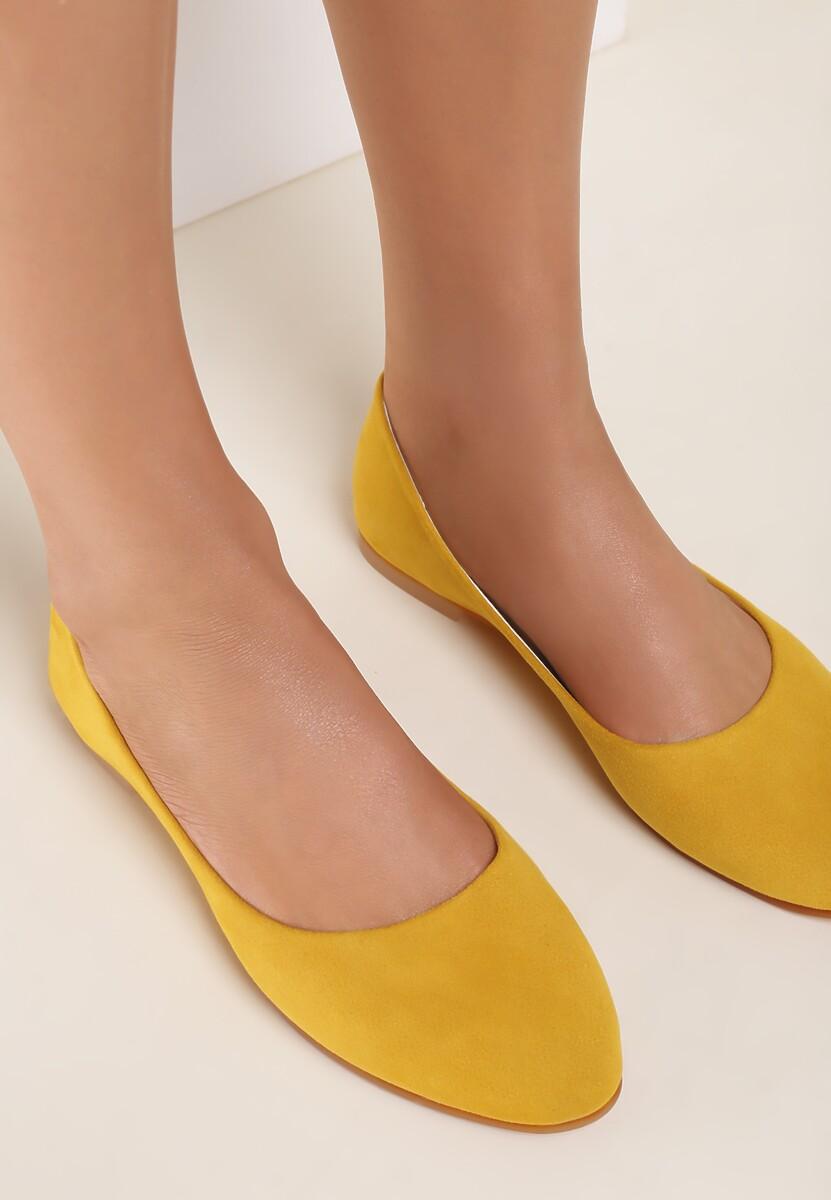 Żółte Balerinki Idadia Kod produktu: 118185