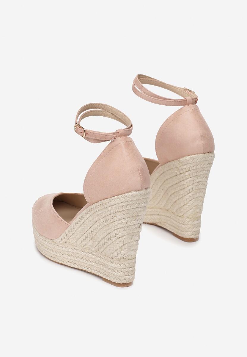 Beżowe Sandały Lilopei