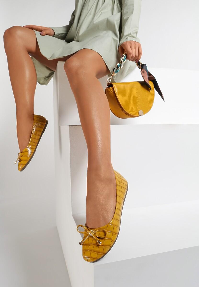 Żółte Balerinki Jenylora