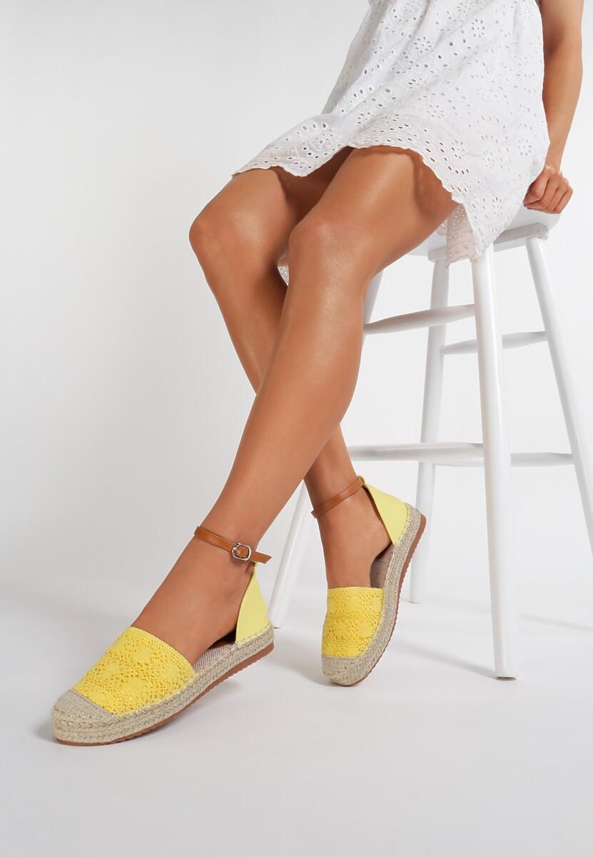 Żółte Espadryle Poreisis Kod produktu: 118371