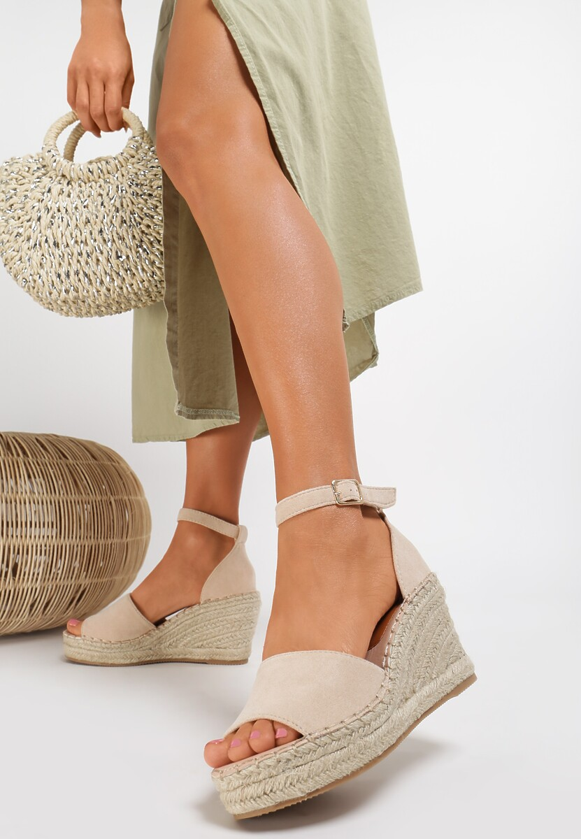 Beżowe Sandały Callavien