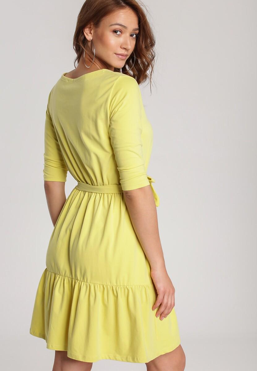 Żółta Sukienka Thelxielira