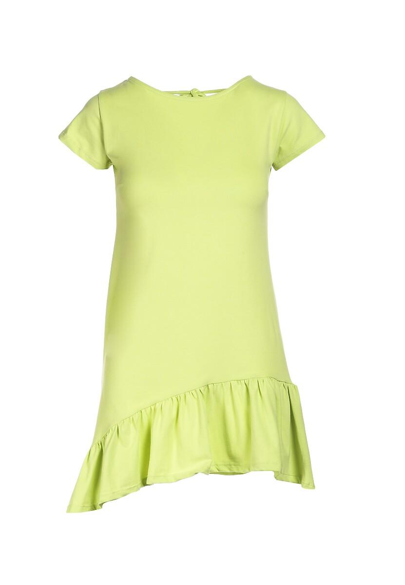 Limonkowa Sukienka Metionilla