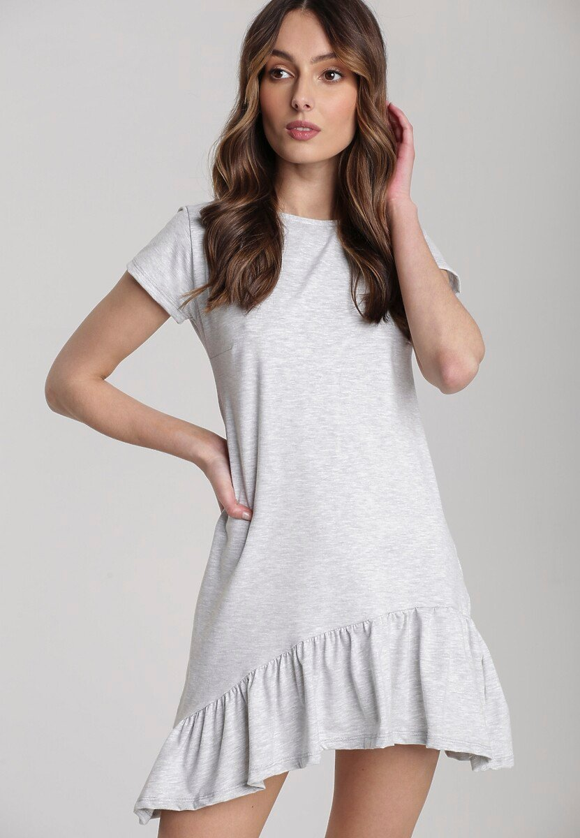 Jasnoszara Sukienka Metionilla Kod produktu: 118779