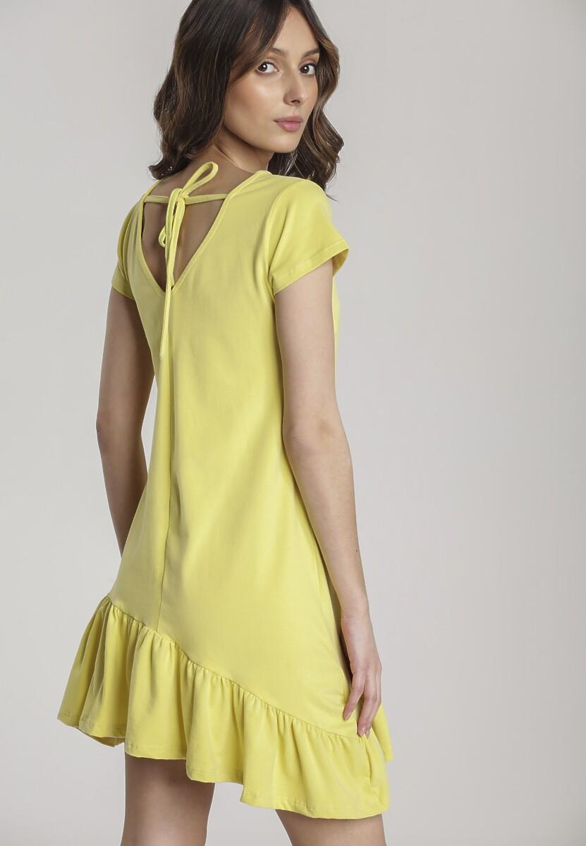 Żółta Sukienka Metionilla