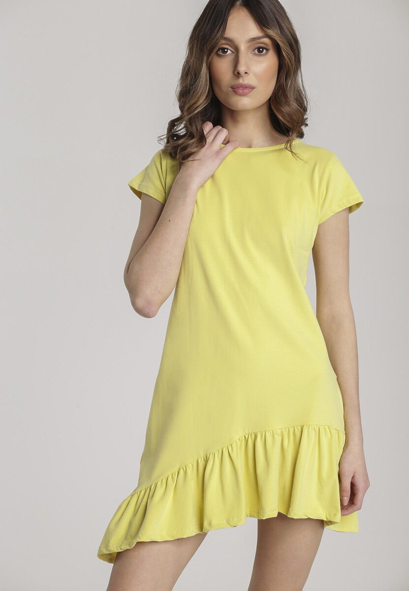 Żółta Sukienka Metionilla Kod produktu: 118782