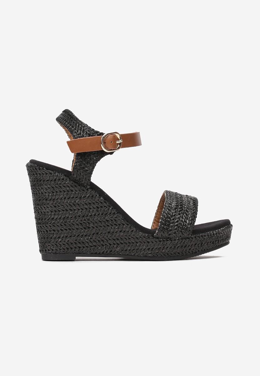 Czarne Sandały Aririen