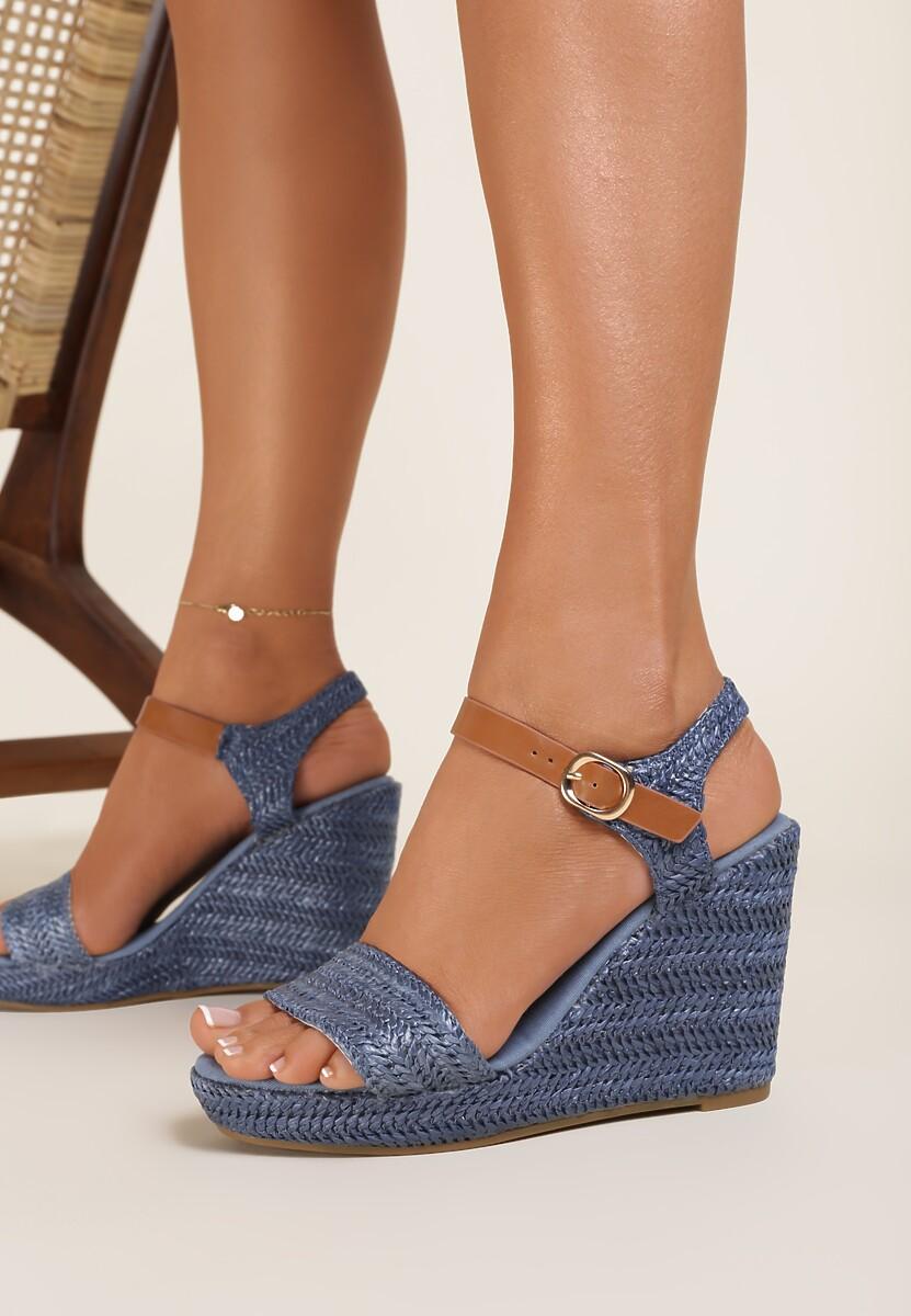 Niebieskie Sandały Aririen