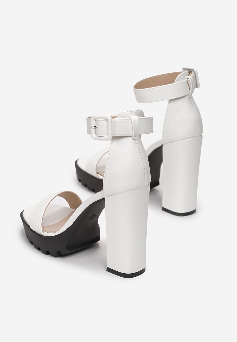 Białe Sandały Kaliria