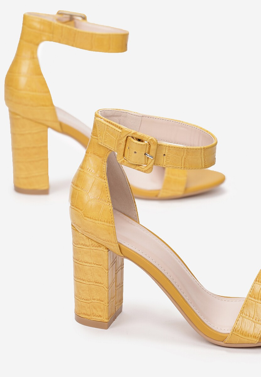 Żółte Sandały Sheimare