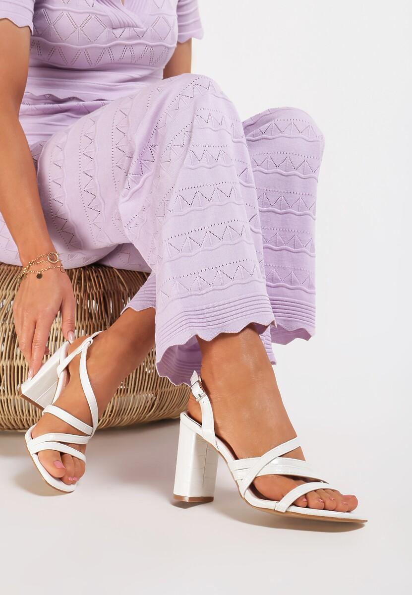 Białe Sandały Iaomilia
