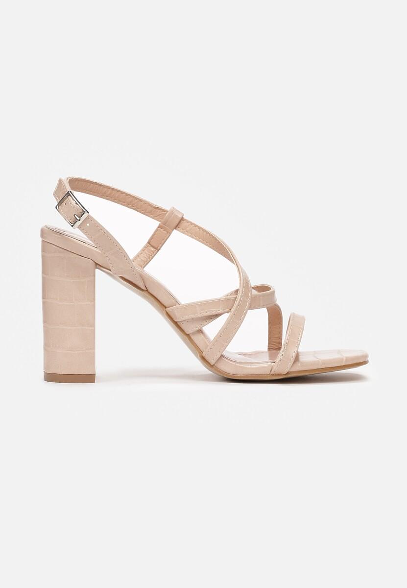 Beżowe Sandały Iaomilia