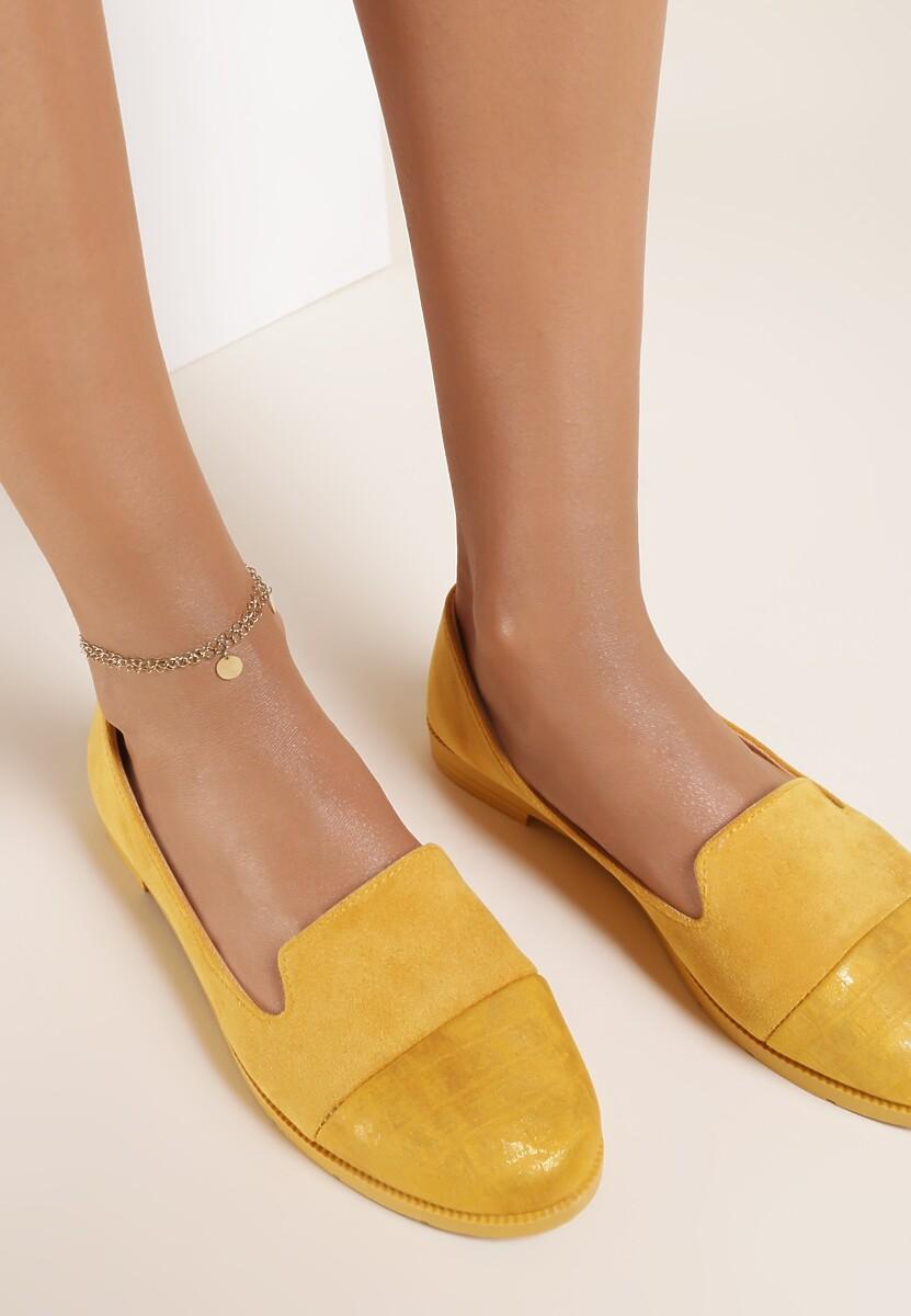 Żółte Balerinki Corraetune Kod produktu: 119890
