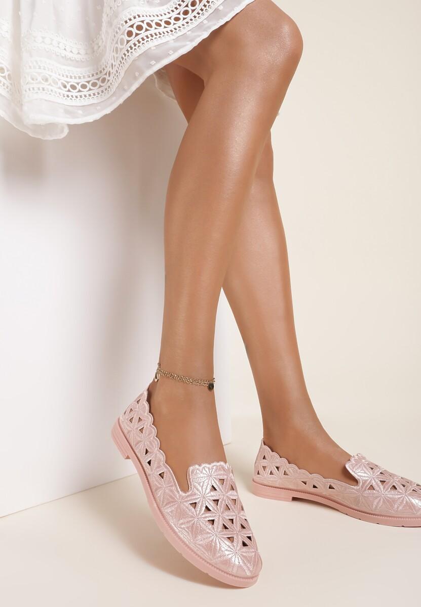 Różowe Balerinki Murieris Kod produktu: 119907