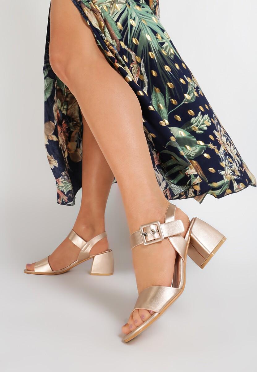 Szampańskie Sandały Brirah Kod produktu: 119003