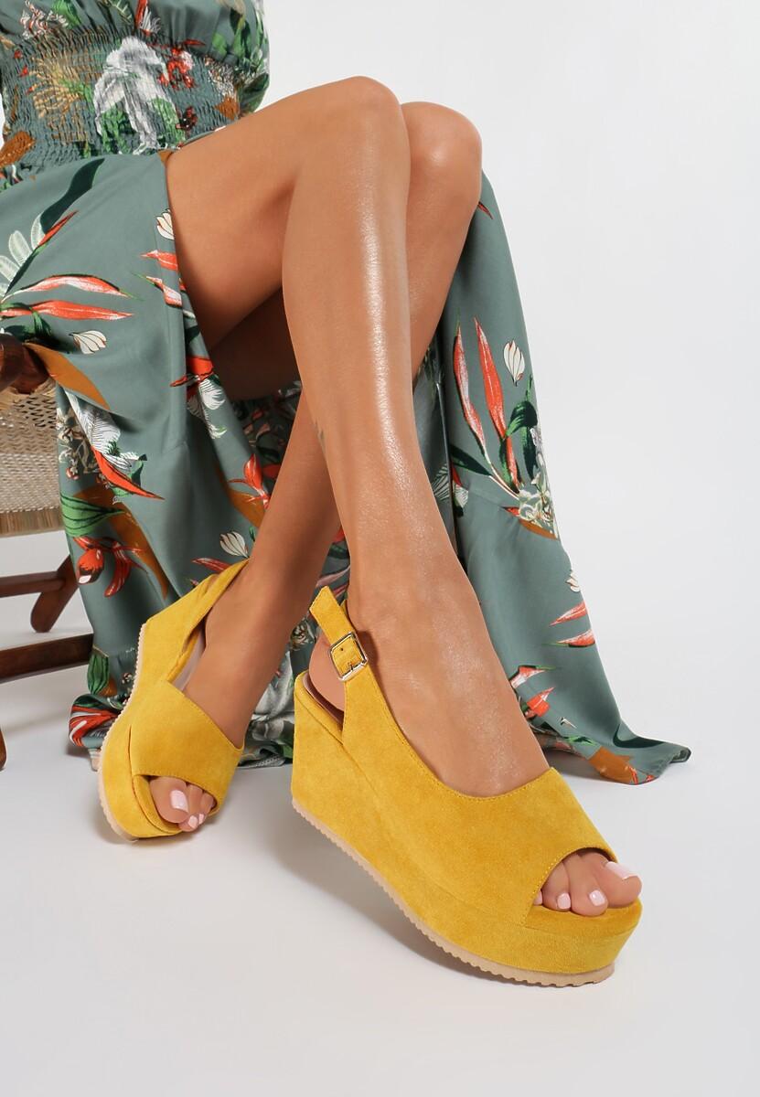Żółte Sandały Sylileora Kod produktu: 119024