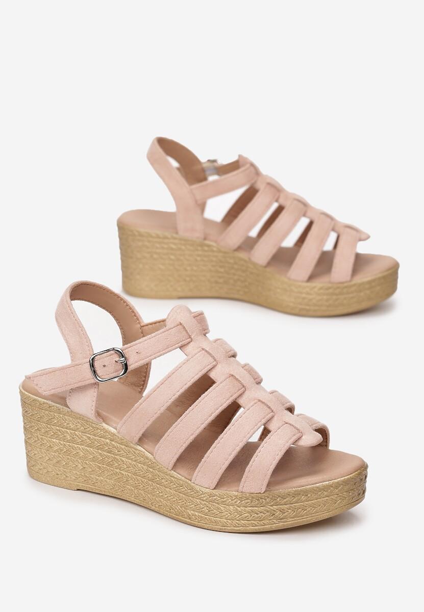 Różowe Sandały Raiphite