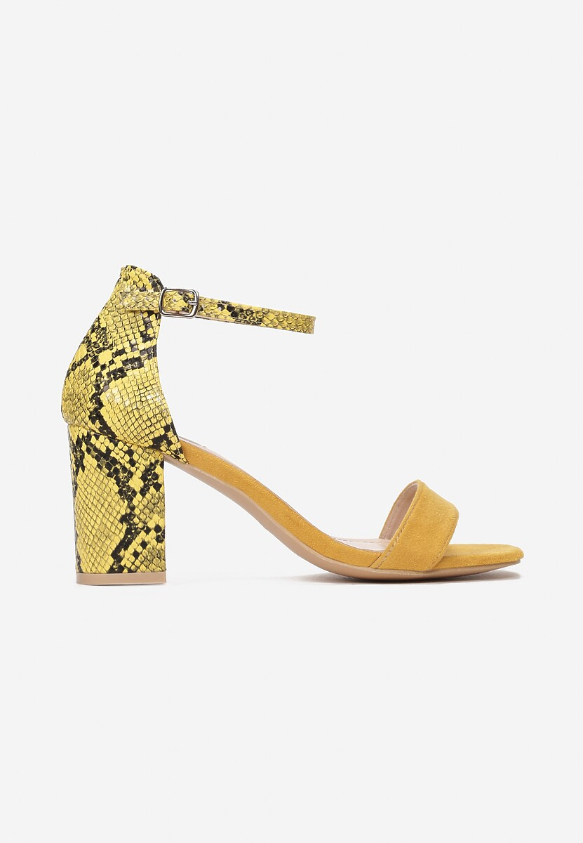 Żółte Wężowe  Sandały Aethereino Kod produktu: 118951