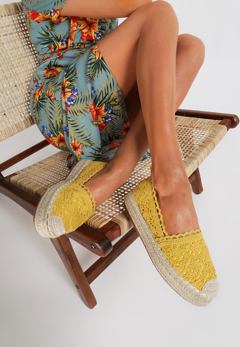 Żółte Espadryle Alluthia