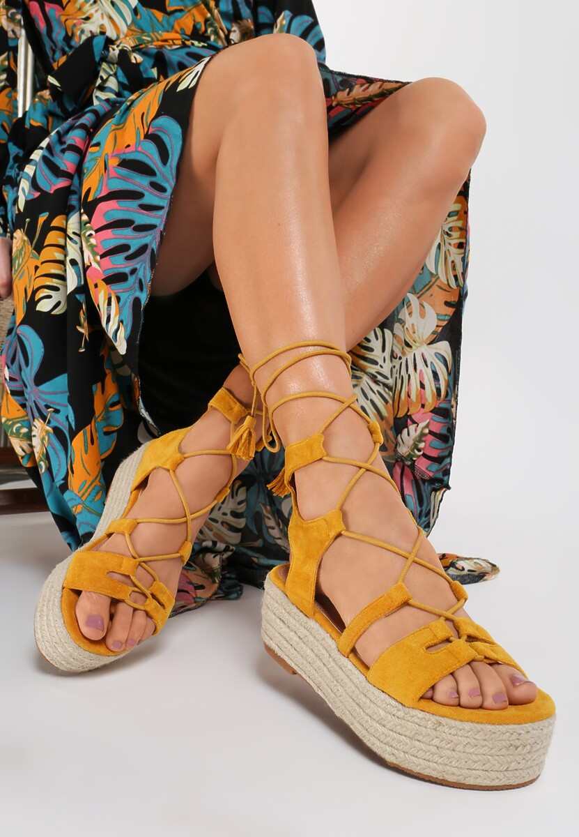 Żółte Sandały Astelinai Kod produktu: 118988