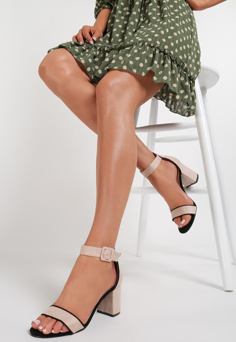 Beżowe Sandały Coreavianna Kod produktu: 119119