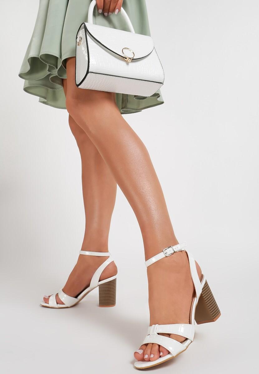 Białe Sandały Lairah Kod produktu: 119157