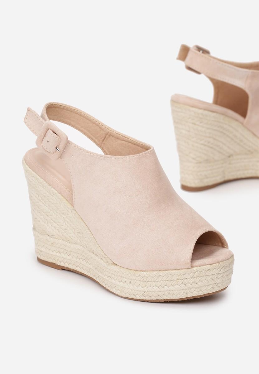 Beżowe Sandały Dalilia