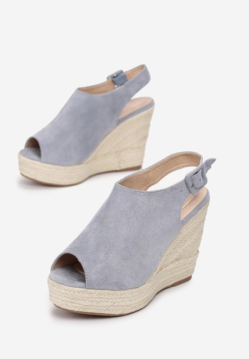 Niebieskie Sandały Dalilia