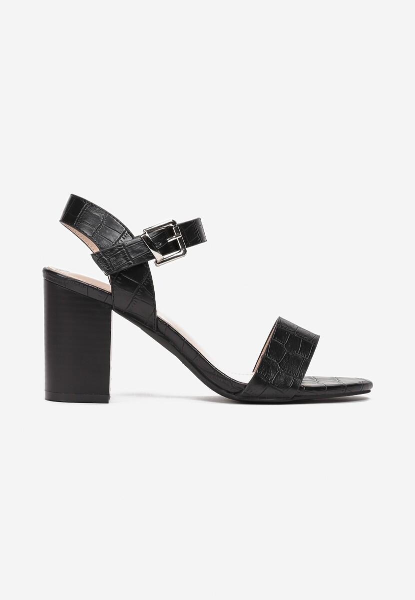 Czarne Sandały Lidelia Kod produktu: 119163