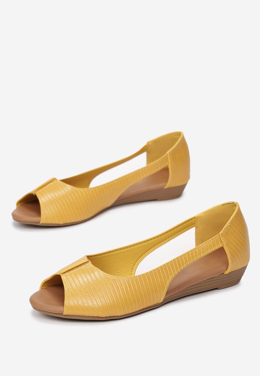 Żółte Balerinki Neaphia