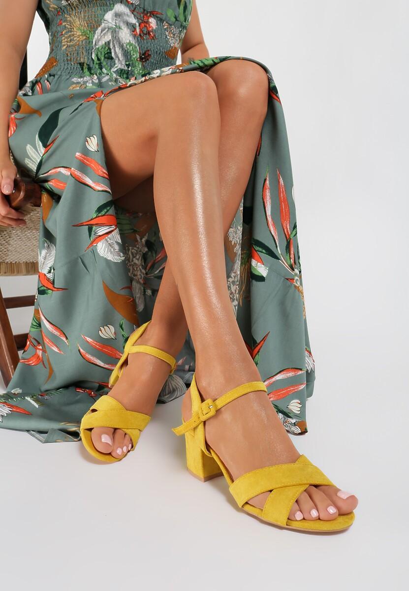 Żółte Sandały Poreimelle Kod produktu: 119342