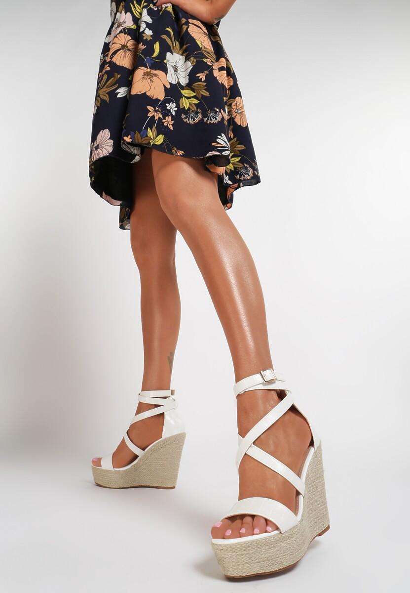 Białe Sandały Zhaguna Kod produktu: 119389
