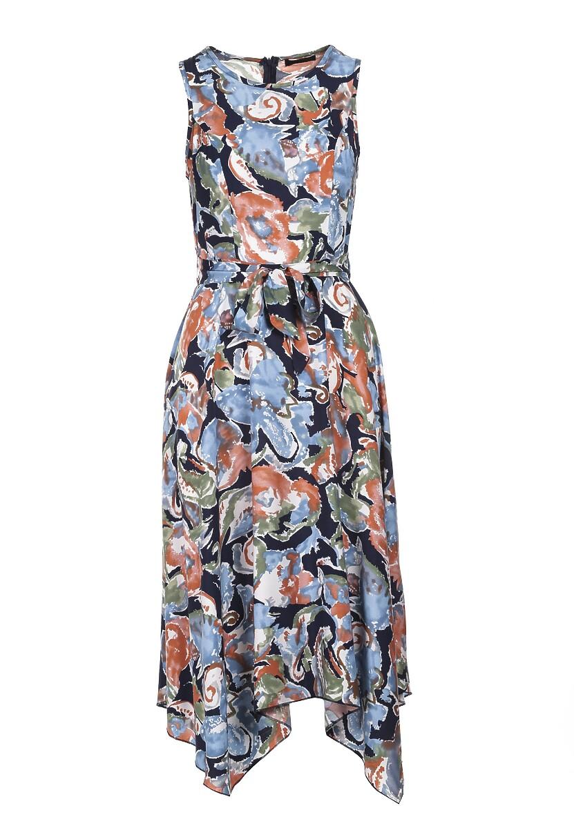 Granatowa Sukienka Aglacea