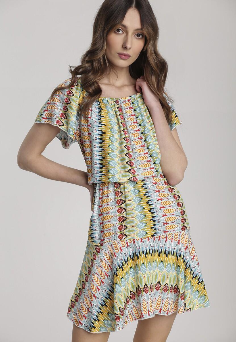 Jasnoniebieska Sukienka Aethemara