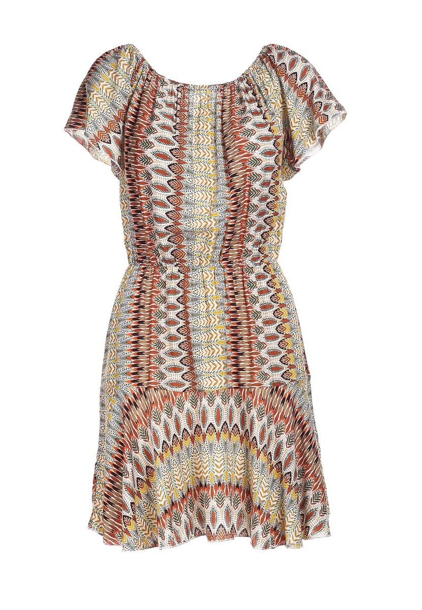 Kremowa Sukienka Aethemara