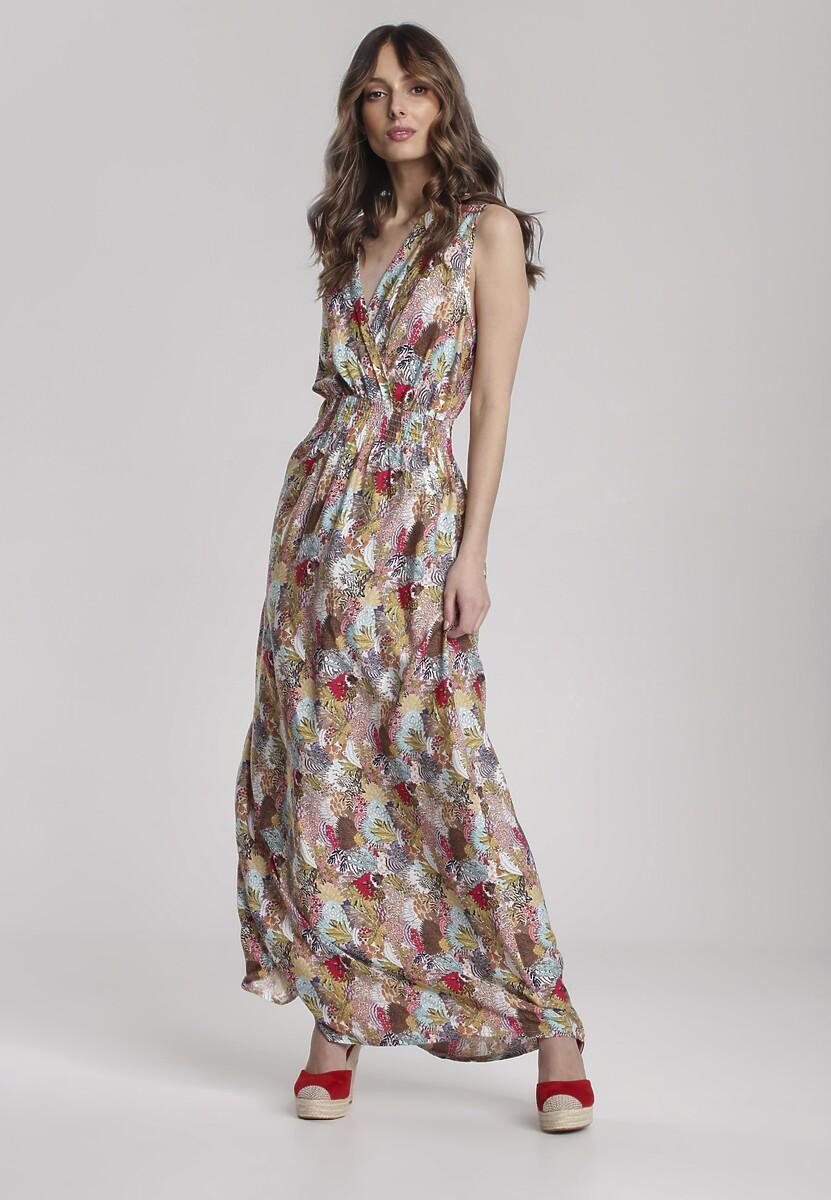 Beżowa Sukienka Arinella