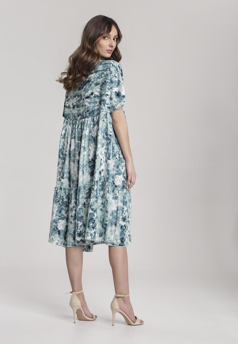 Niebieska Sukienka Petoles