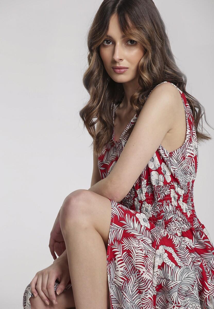 Czerwona Sukienka Salarila