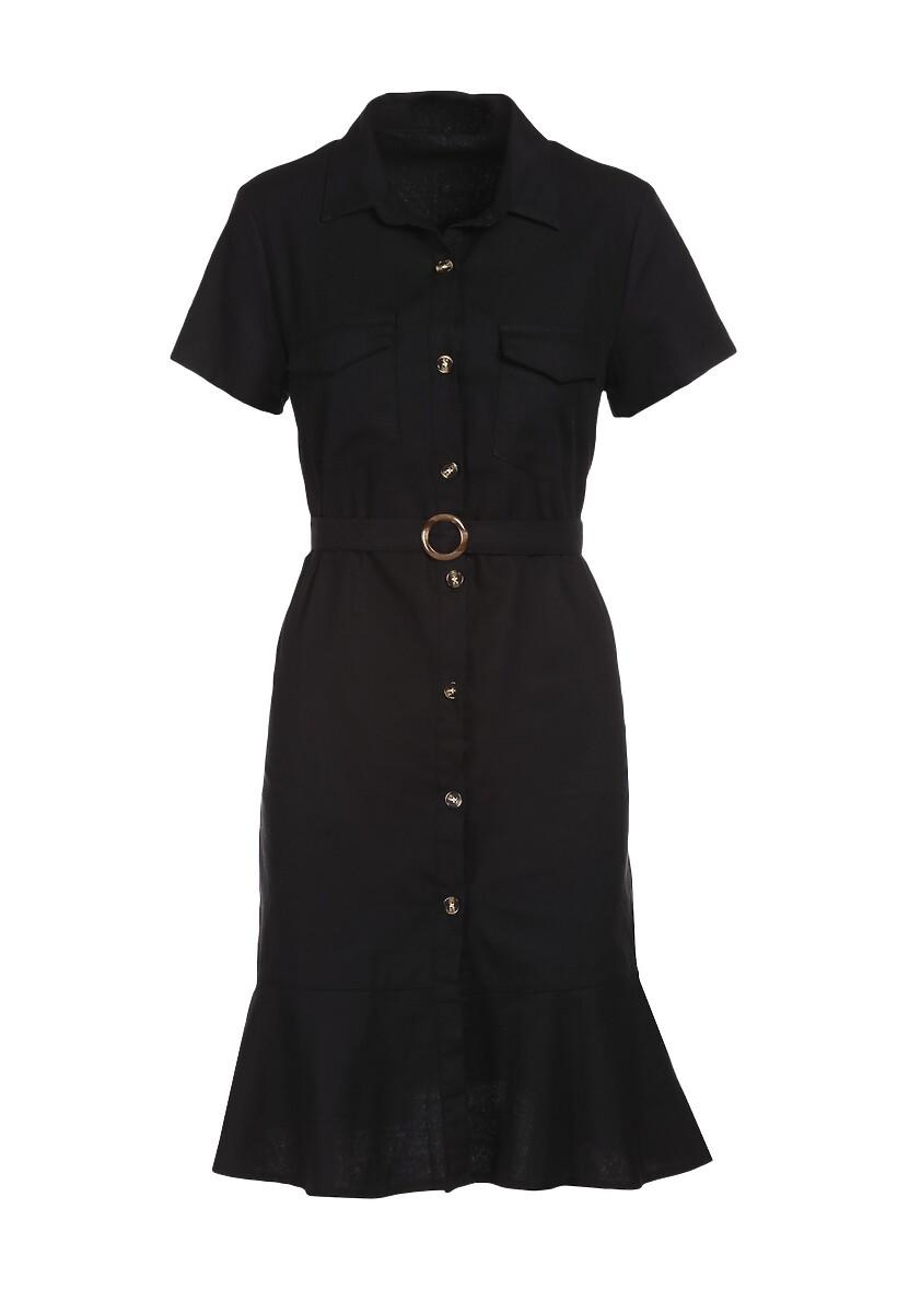 Czarna Sukienka Ginethia